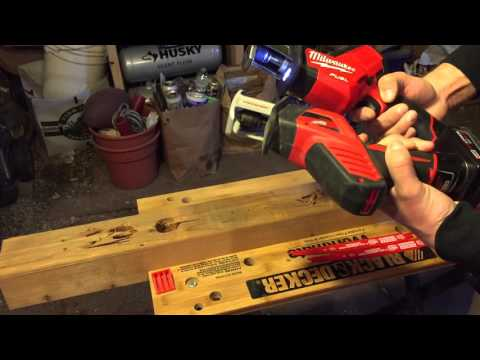 Milwaukee M12 Hackzalls Side by Side