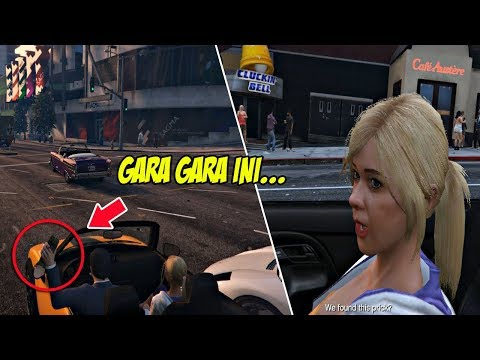 MICHAEL DIMARAHI ANAKNYA | GTA 5 MISI (OPSIONAL) : DOTING DAD | PC