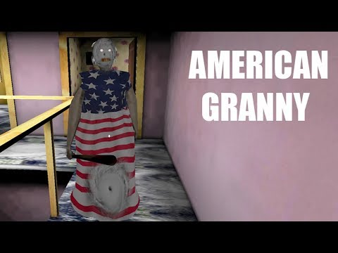 American Granny - 10 funny moments in Granny The Horror Game || Experiments with Granny