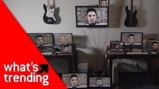 Mystery Guitar Man YouTube Puzzle Mash-up Plus the Top YouTube Videos for 4/5/13