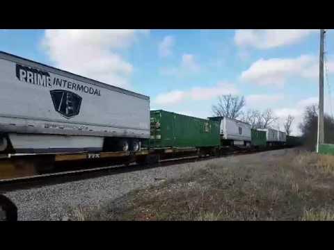 Monongahela train in Niota Tennessee (part 2)