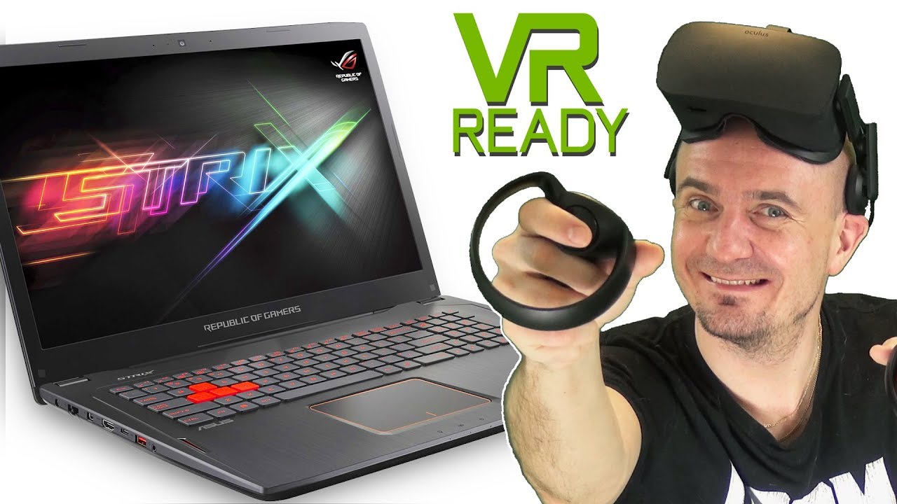 VR Ready Gaming Laptop: ASUS ROG Strix GL702VS Unboxing & First Look