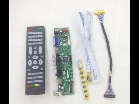T.VST59.031 Universal LED / LCD Board Installation Tutorial ( Part 2 )