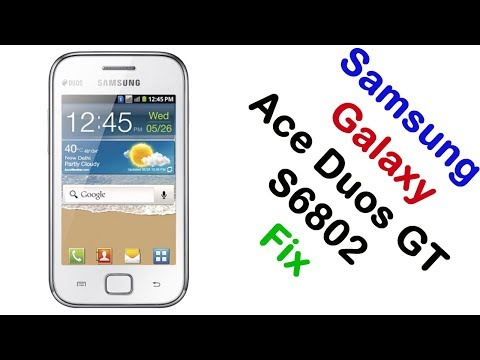 How to Samsung Galaxy Ace Duos GT-S6802 Firmware Update (Fix ROM)