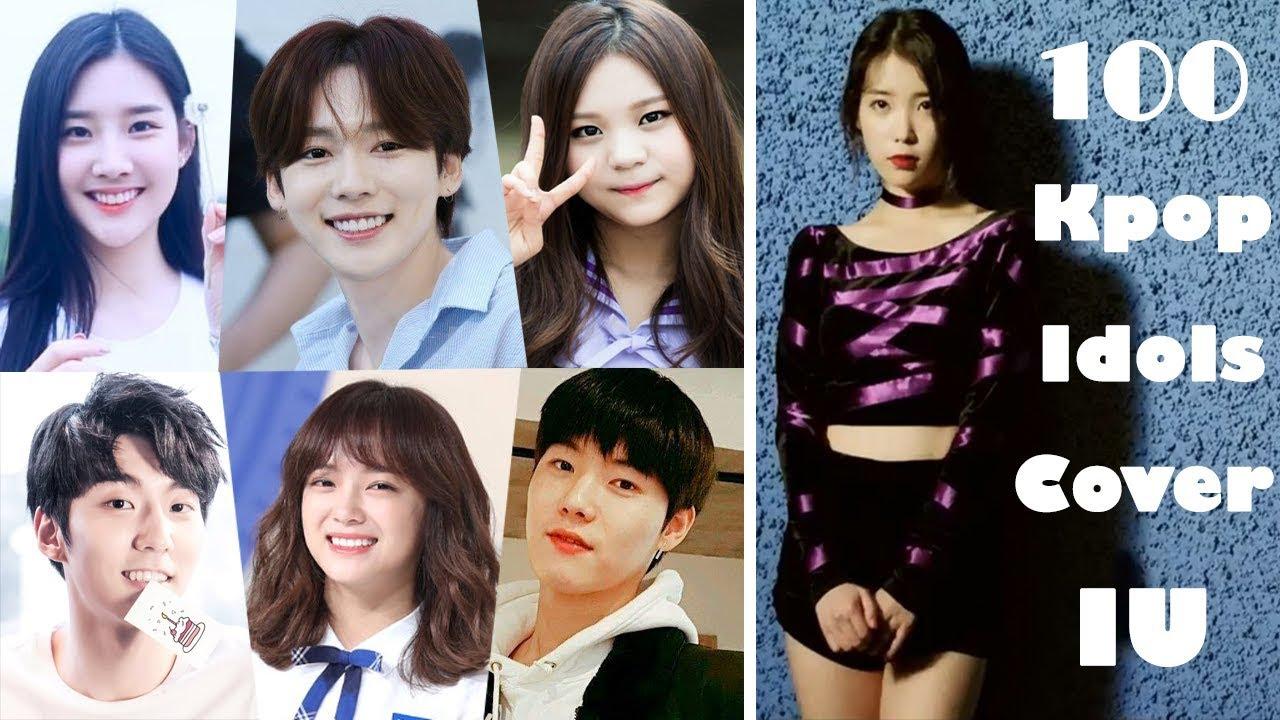 100 Kpop Idols Cover IU (Part 11) 아이유 (Kim Sejeong, GFRIEND, WINNER)