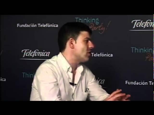 Entrevista en la Thinking Party a Pablo Herreros Ubalde. Fundación telefónica