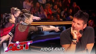 """Download GForce: Girls Group CHALLENGE Simon With New Song """"Simon Says""""   America's Got Talent 2019 Mp3 and Videos"""