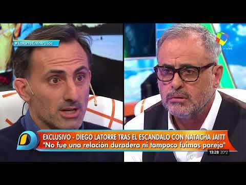 Diego Latorre en Intrusos, primera parte