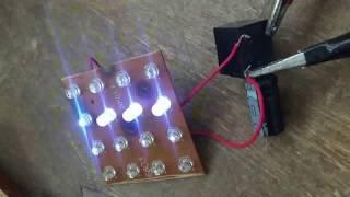 Cara buat lampu Blitz paling Sederhana dari Led Modal Goceng