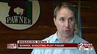 School shooting plot foiled