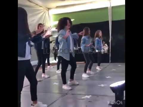 Lucerito Mijares bailando al ritmo de Beyonce