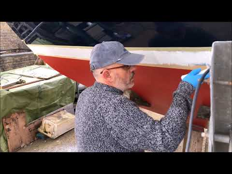 DIY Boat Restoration: Boat Painting now complete!