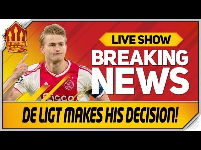 De Ligt Transfer Update! Bruno Fernandes Deal Incoming! Man Utd Transfer News