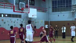 Washington Eagles vs Lincoln Mustangs AAA Basketball 2015