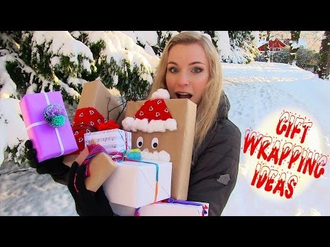 DIY Gift Wrapping! Ideas to Wrap a Present (8 Creative Techniques, Styles)