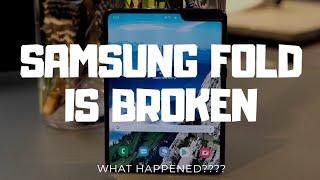 Broken Samsung Galaxy fold: Explained