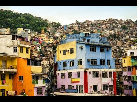 Brazilian favela - local builder's & the master planner