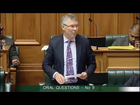 Question 9 - Hon Dr Jonathan Coleman to the Minister for Economic Development