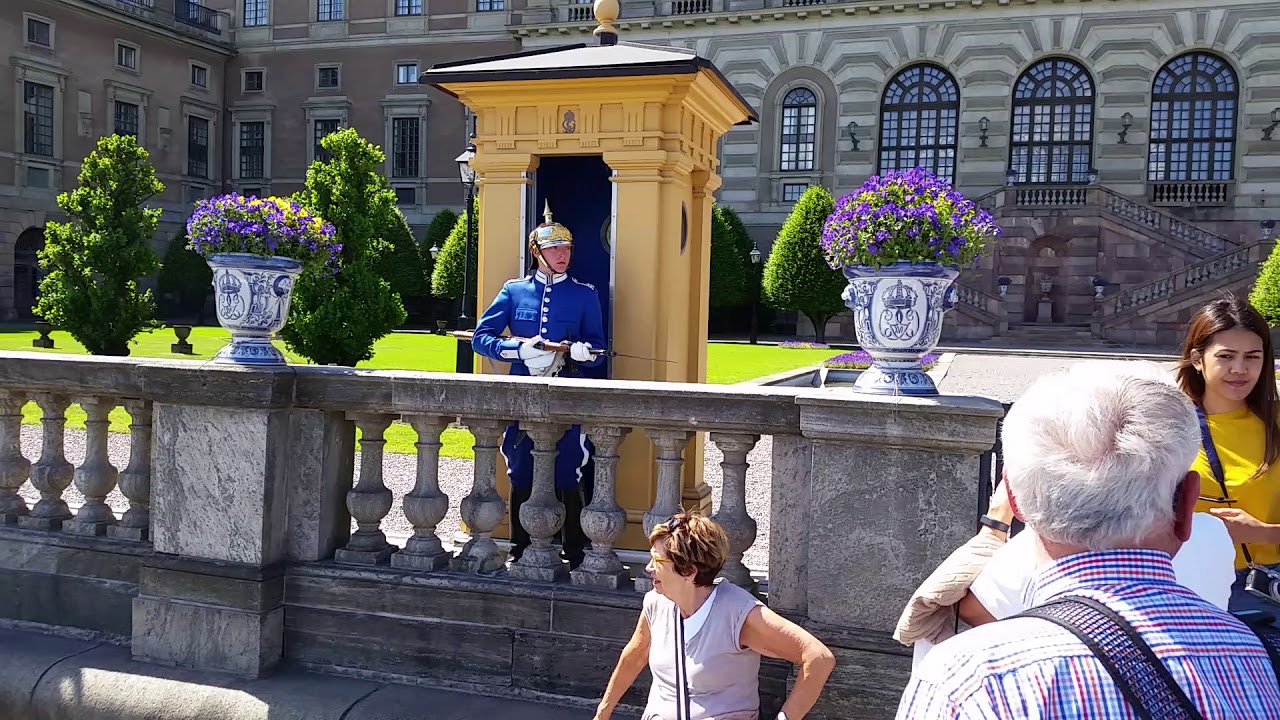 Högvakt. Swedish royal guard