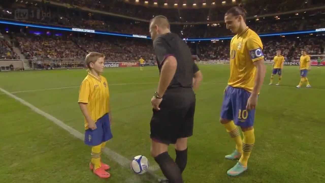 Zlatan Ibrahimovic vs England Home 12-13 HD 720p - YouTube