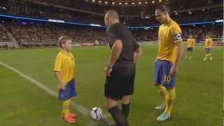 Zlatan Ibrahimovic vs England Home 12-13 HD 720p