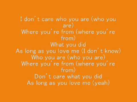 Love who you love lyrics