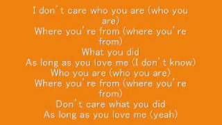 as long as you love me backstreet boys lyrics