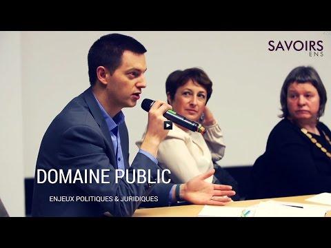 Les enjeux politiques et juridiques du domaine public