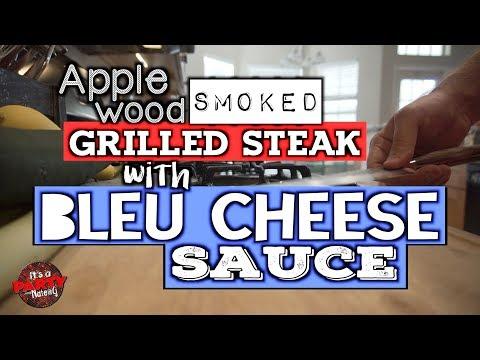 Bleu Cheese Sauce - Super Easy Steak Sauce