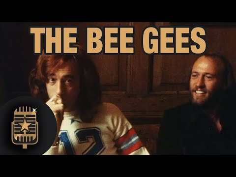 The Bee Gees interview at Robert Stigwood's office • Celebrity Interviews