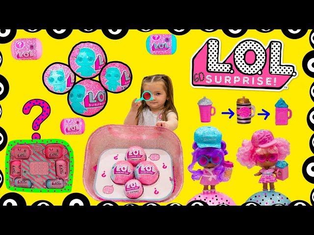LOL SuRpIsE: New Куклы Лол 60 сюрпризов, НОВЫЙ ОГРОМНЫЙ СЮРПРИЗ, парики для кукол #Лол. #куклалол