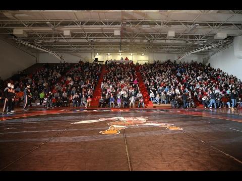 Sights and Sounds: #24 Edinboro vs. #1 Oklahoma State 2.3.17 | Edinboro Wrestling | #BoroBuilt