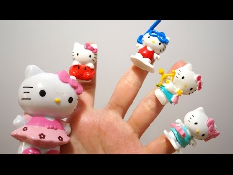 Thumbnail: Hello Kitty Finger Family song | Nursery Rhymes collection songs for children