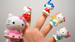 Hello Kitty Finger Family song | Nursery Rhymes collection songs for children