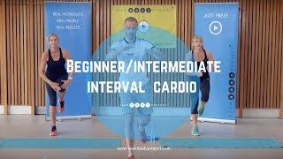Beginner/intermediate interval cardio workout - Cardio starter 2!