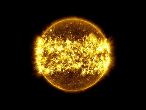 Watch what a year in the life of the sun looks like in six minutes
