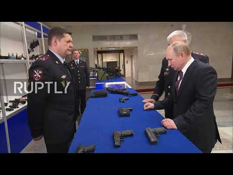 Show Me Your Guns! Putin Inspects Next Generation Of Russian Weapons