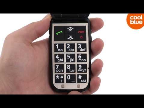 Emporia F210 senioren GSM videoreview en unboxing NL / BE