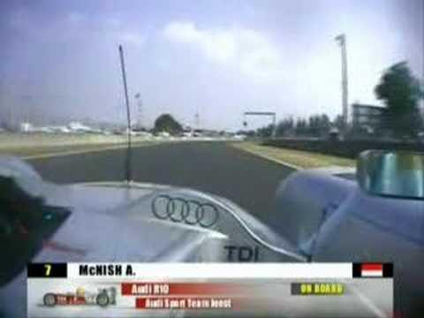 Audi R10 Onboard - Le Mans 24 Hours 2006