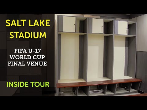 SALT LAKE STADIUM   INSIDE TOUR   FIFA UNDER 17 WORLD CUP FINAL VENUE   2017