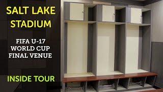 Vanizing Spray Covered the Dressing Room of the Salt Lake Stadium (...