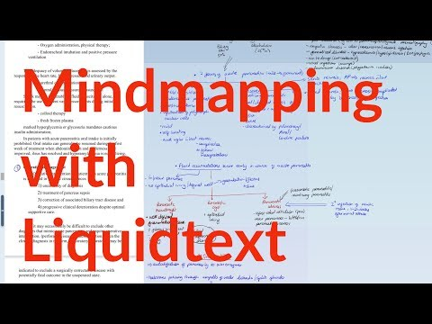 How I make mindmaps in LiquidText| Paperless Productivity