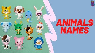 Animals Names For Kids/Learning Animals Names/Let's Watch...