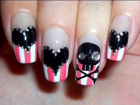 Cute Pirate Nails