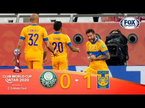 ¡TIGRES HISTÓRICO! ¡🐯 FINALISTA!   PALMEIRAS 0-1 TIGRES   Mundial
