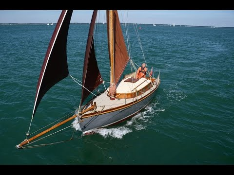 My Classic Boat. Betty II 25ft Gaff cutter. 1921