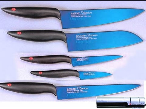 Titanium Kitchen Knives Modern Sink Faucets Blade Knife Youtube
