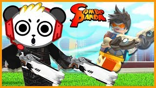 Roblox Overblox LAZER TAG SIMULATOR Let's Play with Combo Panda