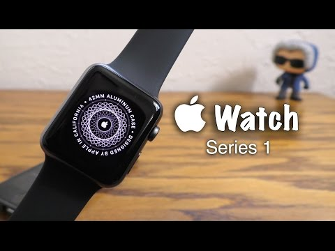 Apple Watch Series 1 Unboxing & Review   Space Gray