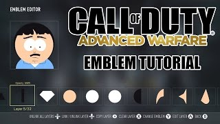 Advanced Warfare Emblem Tutorial: Randy Marsh (South Park)